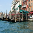 Mooring for gondolas — Stock Photo #3400813