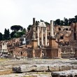 The ruins of the Roman forum. Italy — Stock Photo