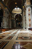 Central nave of St. Peter cathedral — Stock Photo