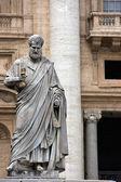 Sculpture de saint pierre — Photo