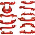 Ribbons set — Stock Vector #3403961