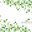 Green checked background — Stock Vector #3404025