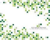 Groene gecontroleerd achtergrond — Stockvector
