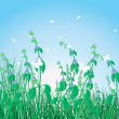Royalty-Free Stock Vector Image: Colorful grass background