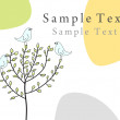 Royalty-Free Stock Imagen vectorial: Greetings card