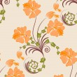 Seamless floral background — Stock Vector #3440987