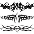 Tattoos set — Stockvector #3441248