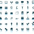 Web icons set — Stock Vector #3442531