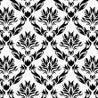 Seamless damask background - 图库矢量图片