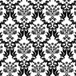 Seamless damask background - Vettoriali Stock