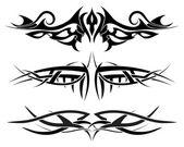 Tattoos set — Stock Vector