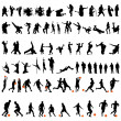 Dance and sport set — Imagen vectorial
