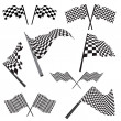 Set of racing flags — Stockvector #3456670