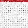Stock Vector: Icons set