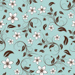 Seamless floral background — Stockvector #3496194