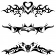 Tattoos set — Stock Vector #3496270