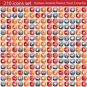 Icons set — Wektor stockowy