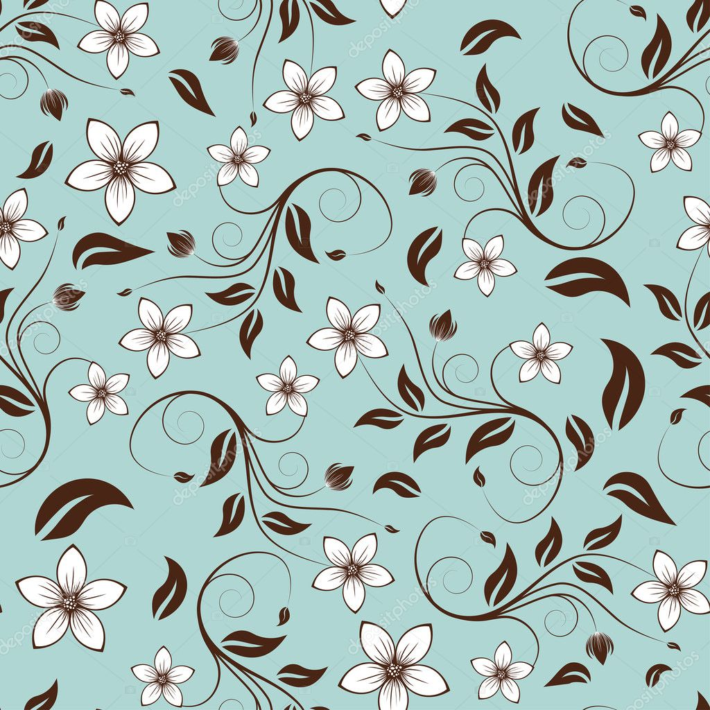 seamless floral background - photo #20