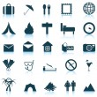 Royalty-Free Stock Vector Image: Travel icons set