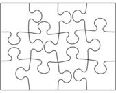 Puzzle — Stock Vector