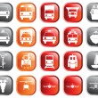 Transportation icons set — Stock Vector #3604862