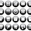 Business and office icons set — Stock Vector #3604890
