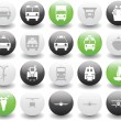 Transportation icons set — Stockvector #3604901