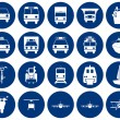 Transportation icons set — Stock Vector #3604943