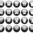 Transportation icons set — Stock Vector #3604972