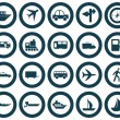 Transportation icons set — Stock Vector #3605033