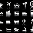 Transportation icons set — Stock Vector #3605046