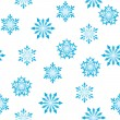 Royalty-Free Stock Vector Image: Seamless snowflakes