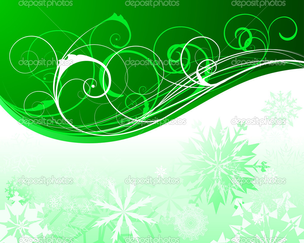 Beautiful vector Christmas (New Year) background for design use — Stock Vector #3626722