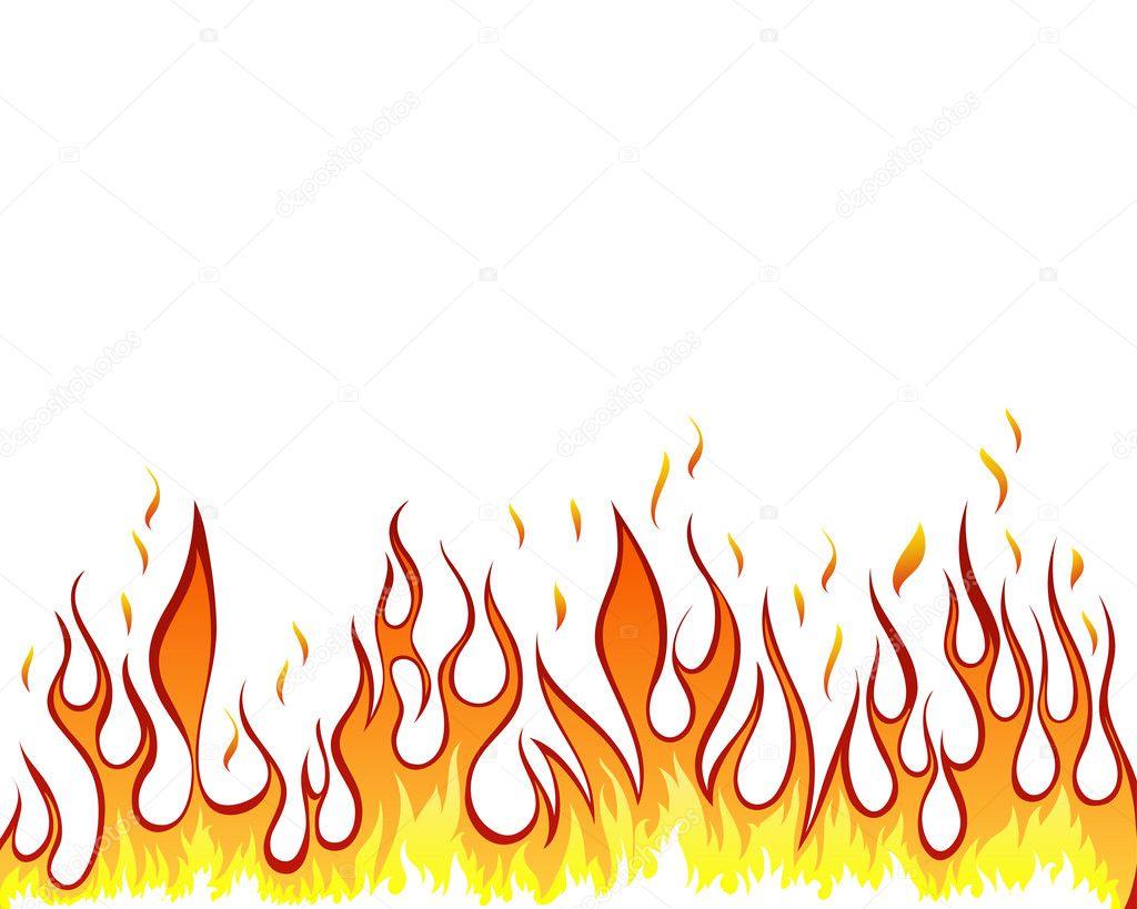 Photos of Cartoon Fire Flames Clip Art No Background.