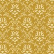 Seamless damask pattern — Vettoriali Stock