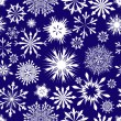 Royalty-Free Stock Vector Image: Seamless snowflakes background
