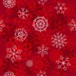 Seamless snowflakes background — Stock Vector