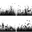 Meadow silhouettes — Stock Vector #3633854