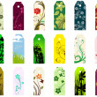 Stock Vector: Bookmarks set