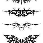 Tattoos set — Stock Vector #3636174