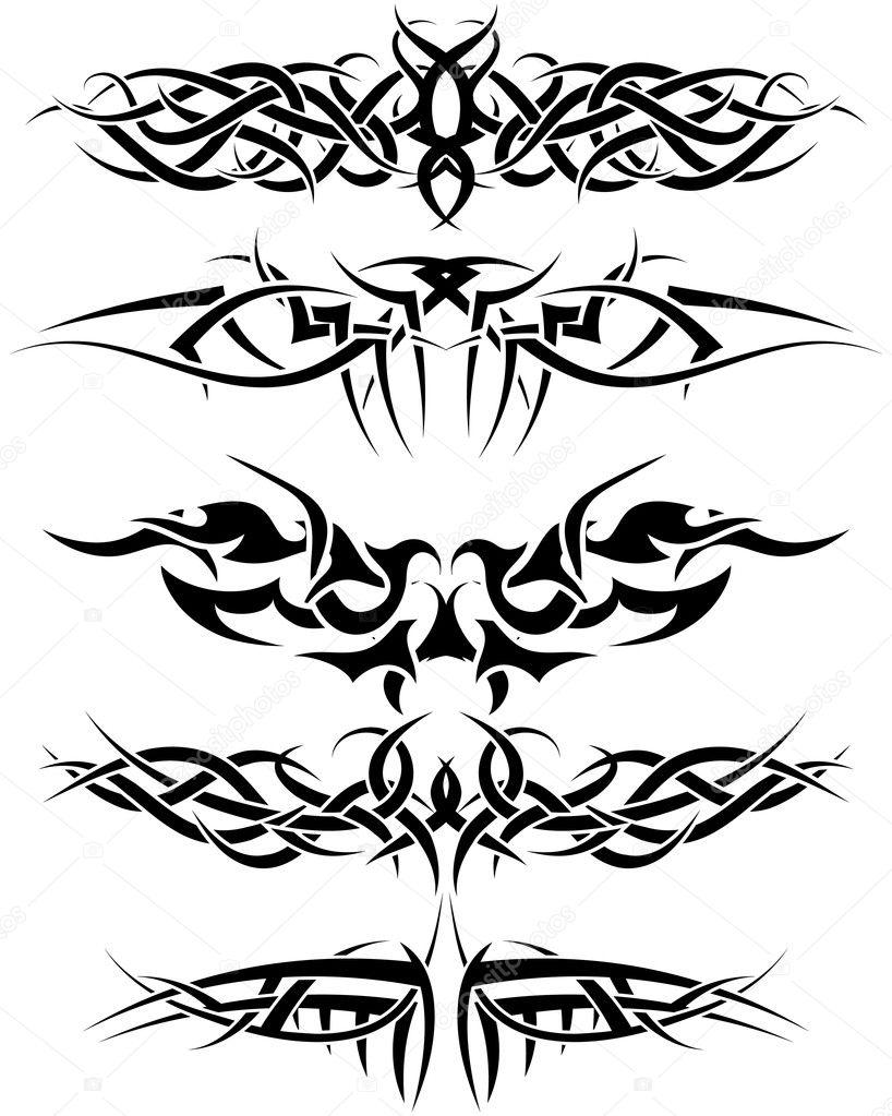 forearm tattoos phnix tribal
