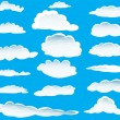 Different clouds — Stock Vector #3657332