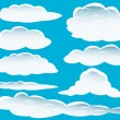 Different clouds — Stock Vector #3657341
