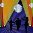 Royalty-Free Stock Vector Image: Club scene