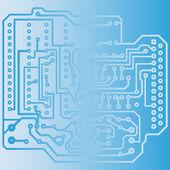 электрическая схема — Cтоковый вектор