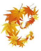 Albero autunno — Vettoriale Stock
