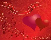 Valentine — Cтоковый вектор