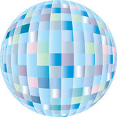 Disco sphere — Stock Vector