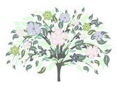 άνθος δέντρο — Διανυσματικό Αρχείο
