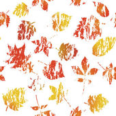 Maple grunge seamless background — Stock Vector